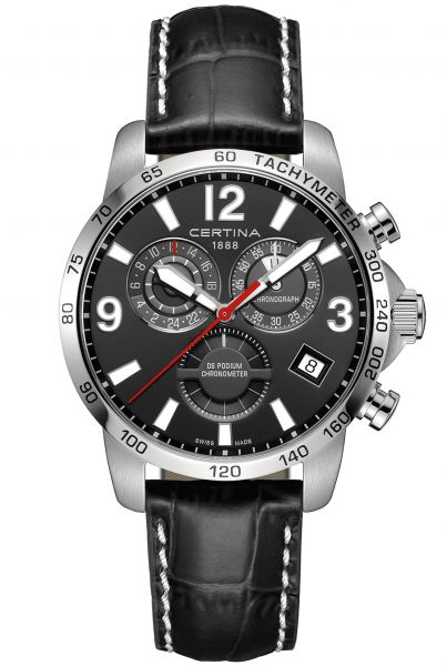 Certina DS PODIUM CHRONOGRAPH GMT Herrenuhr C034.654.16.057.00
