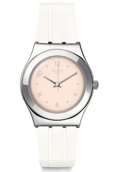 Swatch IRONY Medium Blusharound Damenuhr YLS199