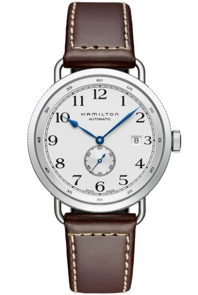 HAMILTON KHAKI NAVY PIONEER SMALL SECOND Herrenuhr H78465553