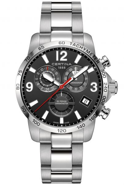 Certina DS PODIUM CHRONOGRAPH GMT Herrenuhr C034.654.11.057.00
