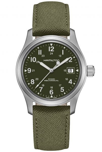 HAMILTON KHAKI FIELD OFFICER HANDWINDING Herrenuhr H69419363