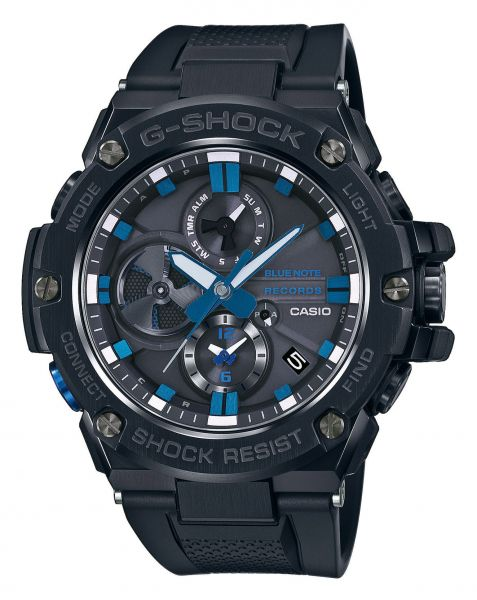 Casio G-Shock x Blue Note Records GST-B100BNR-1AER Herrenuhr