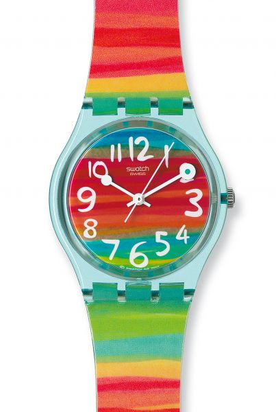 Swatch Color the Sky GS124 Damenuhr Originals Gent