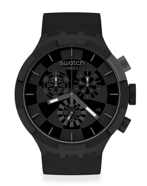 Swatch Checkpoint Black SB02B400 Big Bold