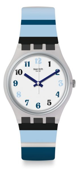 Swatch GE275 Night Sky Unisexuhr Originals Gent
