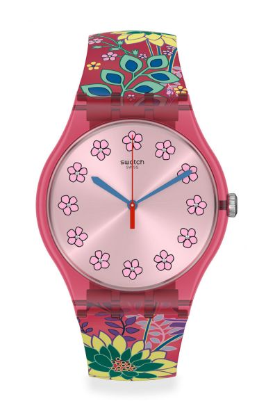 Swatch SUOP112 Dhabiscus Unisexuhr New Gent