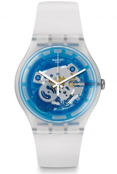 Swatch ORIGINALS New Gent Blumazing Unisexuhr SUOK129