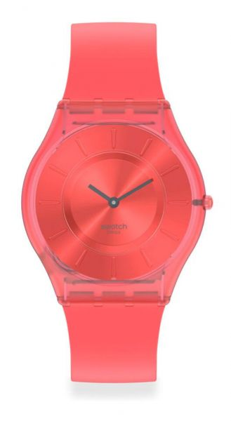 Swatch SS08R100 SKIN Classic Sweet Coral Damenuhr