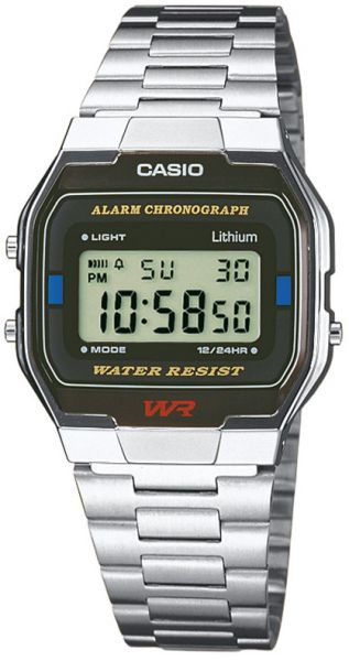 Casio Collection Unisexuhr A163WA-1QES