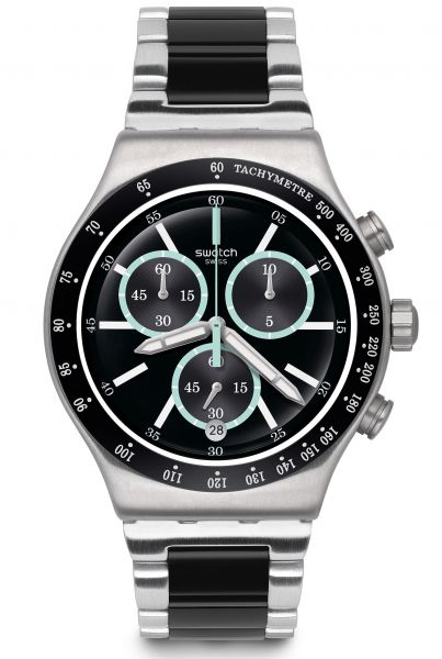Swatch IRONY Chrono Ironfresh Herrenuhr YVS434G
