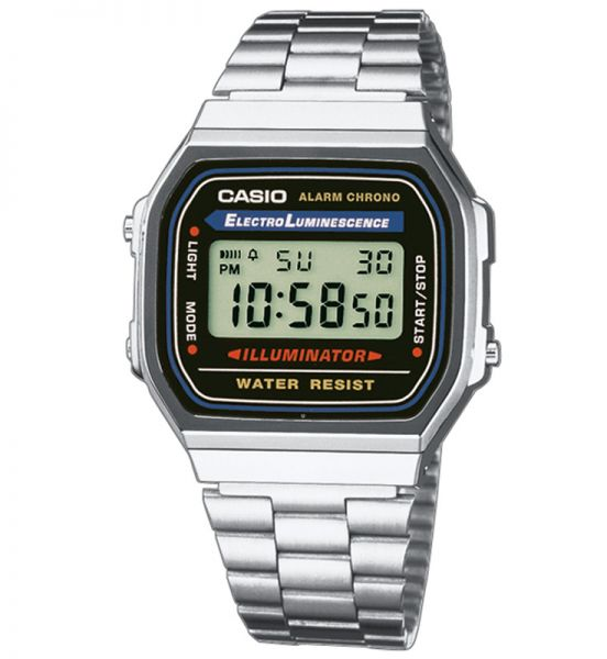 Casio Collection Unisexuhr A168WA-1YES