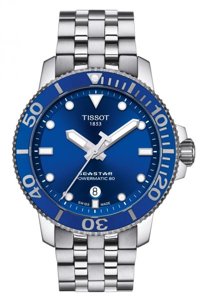 TISSOT Seastar 1000 Powermatic 80 Herrenuhr T120.407.11.041.00