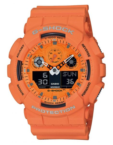 Casio GA-100RS-4AER G-Shock Herrenuhr