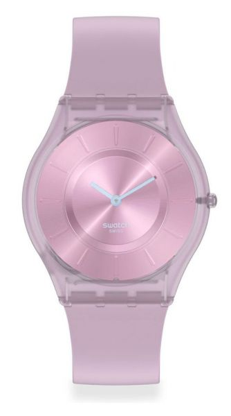Swatch SS08V100 SKIN Classic Sweet Pink Damenuhr