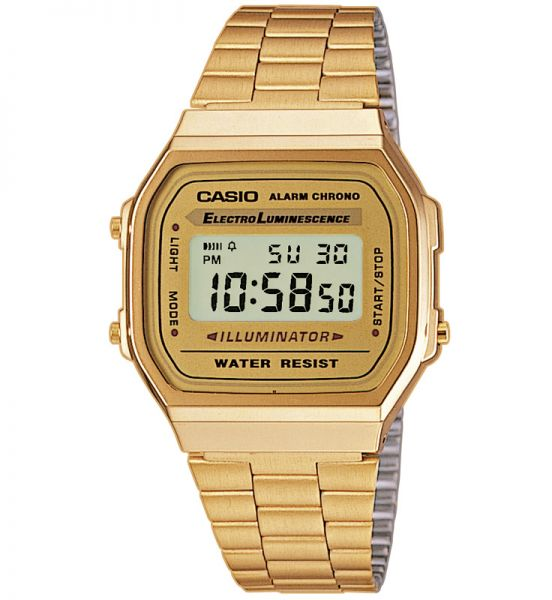 Casio Collection Unisexuhr A168WG-9EF