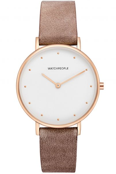 Watchpeople WP032-02 I Love Dots Damenuhr
