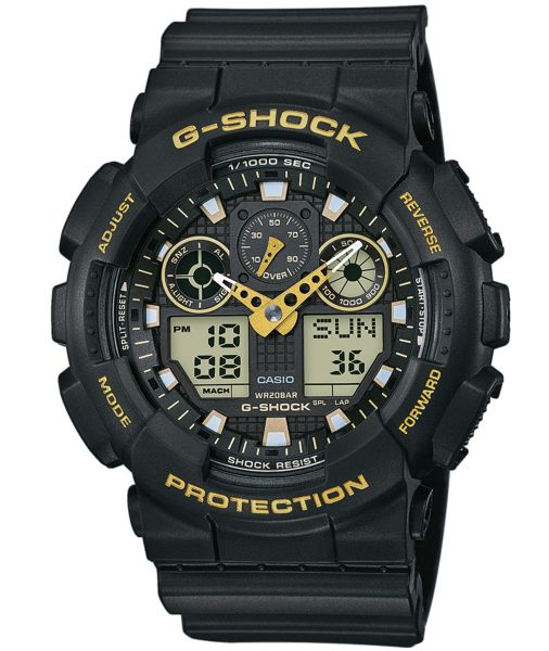 Casio G-Shock Herrenuhr GA-100GBX-1A9ER