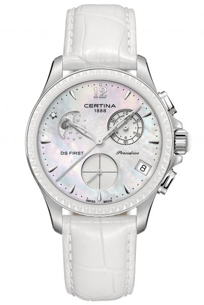 Certina DS FIRST LADY CHRONOGRAPH MONDPHASE Damenuhr C030.250.16.106.00