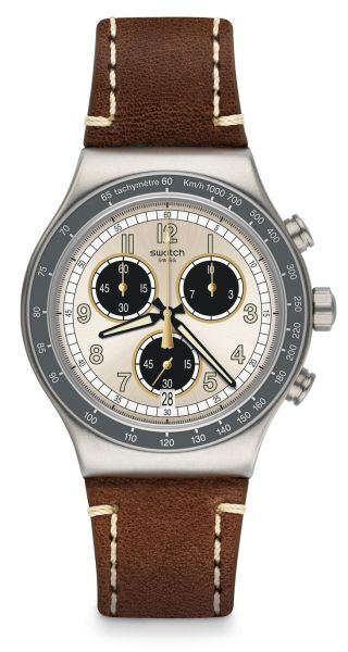 Swatch YVS455 Rhum Irony Chrono Herrenuhr