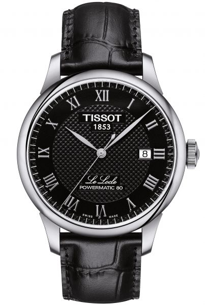 TISSOT Le Locle Powermatic 80 Herrenuhr T006.407.16.053.00