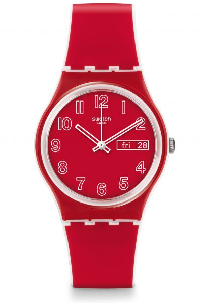 Swatch ORIGINALS Gent Poppy Field Unisexuhr