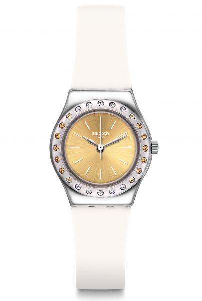 Swatch IRONY Medium Camawhite Damenuhr YSS314