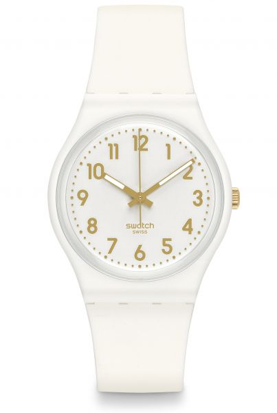 Swatch White Bishop GW164 Damenuhr Originals Gent