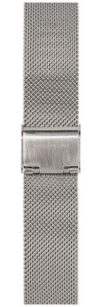 Watchpeople SWP18M-001 18mm Mesh Silber