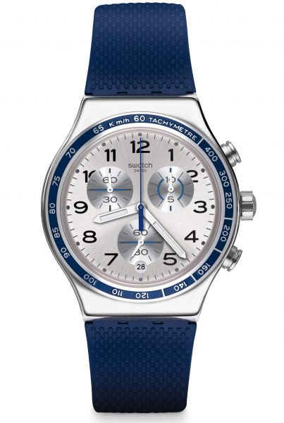 Swatch IRONY Chrono Frescoazul Herrenuhr YVS439