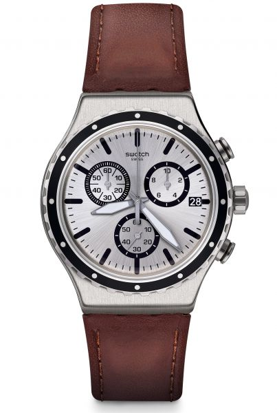 Swatch IRONY Chrono Grandino Herrenuhr YVS437