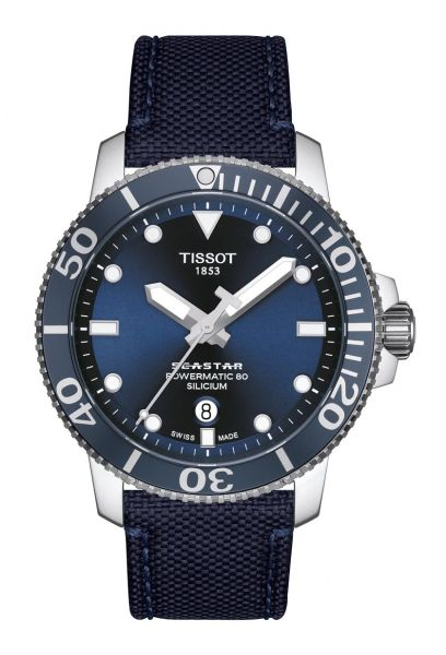 TISSOT T120.407.17.041.01 Seastar 1000 Powermatic 80 Silicium Herrenuhr