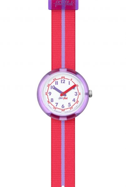 FLIK FLAK Purple Band Kinderuhr FPNP021