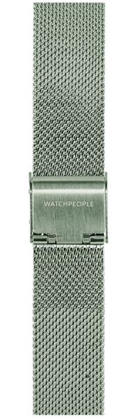 Watchpeople SWP16M-001 16mm Mesh Silber