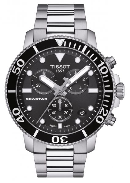 TISSOT Seastar 1000 Chronograph T120.417.11.051.00 Herrenuhr