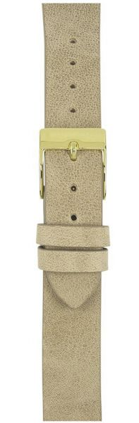 Watchpeople SWP16L-015 16mm Lederband Nature Sand