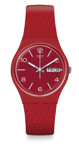 Swatch Lazered GR710 Unisexuhr Originals Gent
