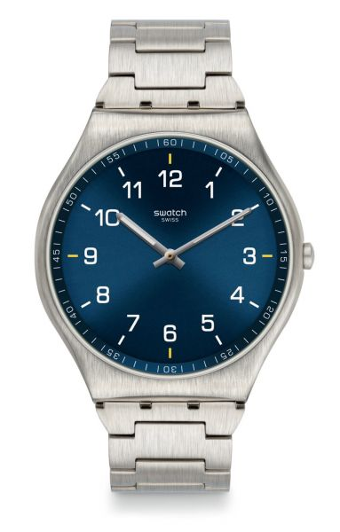 Swatch SS07S106G Skin Suit Blue Unisexuhr
