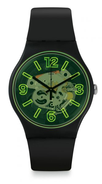 Swatch SUOB166 Yellowboost Unisexuhr New Gent